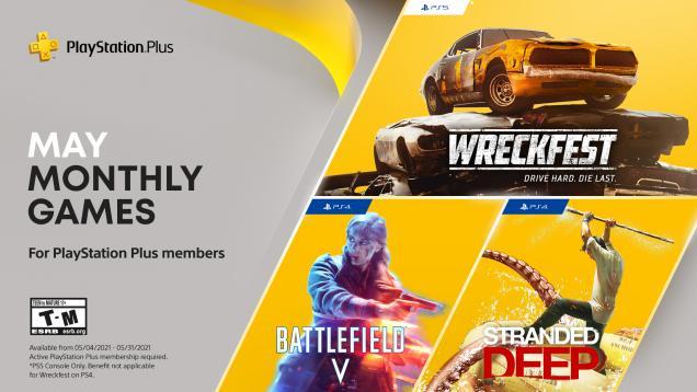 Jeux PS+ de mai 2021