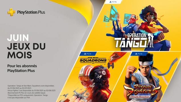 Jeux PS+ de juin 2021